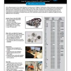 Small Photo of APU MRO Brochure