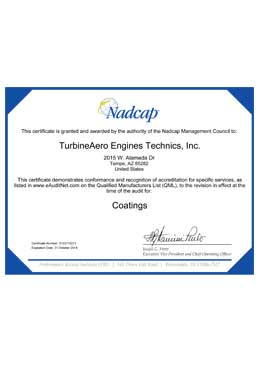 Download Cert Package Nadcap AS9100 Tempe PDF
