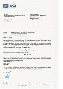 Download EASA Part 145 TET