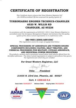 Download ISO9001 AS9100 TET Chandler PDF