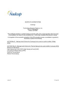 Download Nadcap Coatings TET Tempe 2 PDF