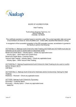 Download Nadcap Heat Treating TET Chandler PDF
