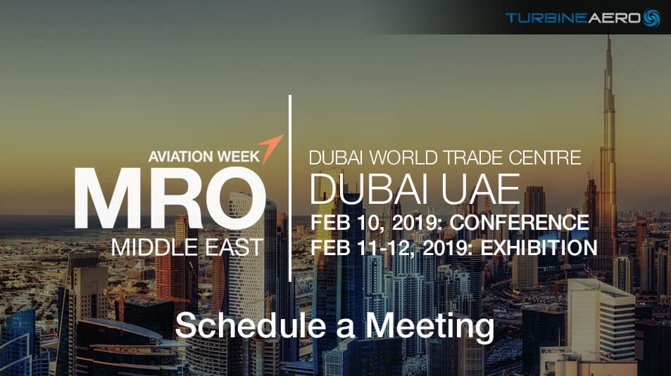 MRO Middle East 2019 in Dubai UAE